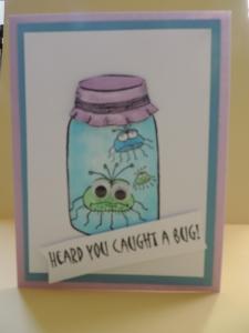 Caught a Bug Card 4